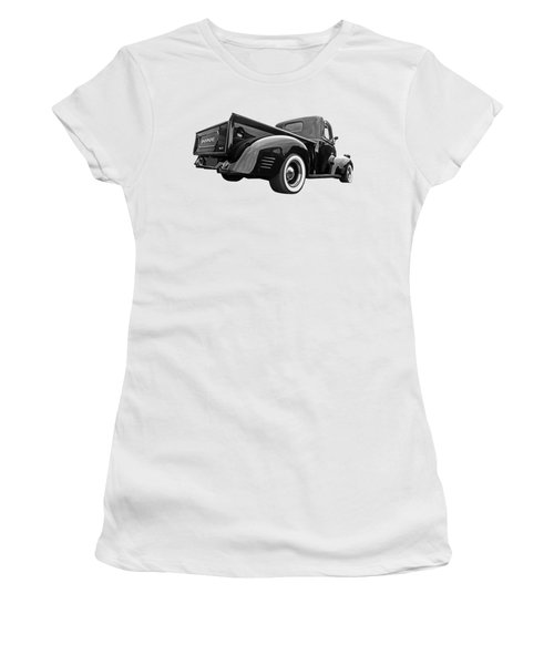 Dodge Truck 1947 Rear View Women's T-Shirt (Athletic Fit)