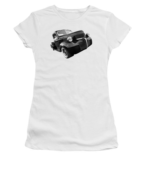 Dodge Truck 1947 Side View Women's T-Shirt (Athletic Fit)