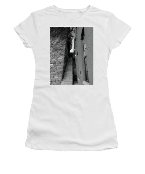 Does Evil Lurk Above? Women's T-Shirt