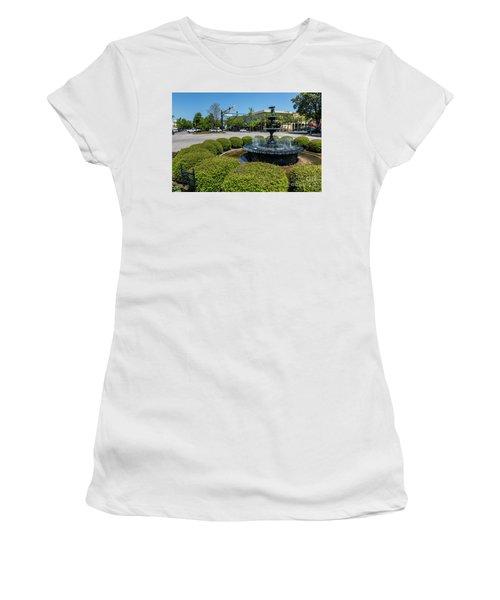 Downtown Aiken Sc Fountain Women's T-Shirt