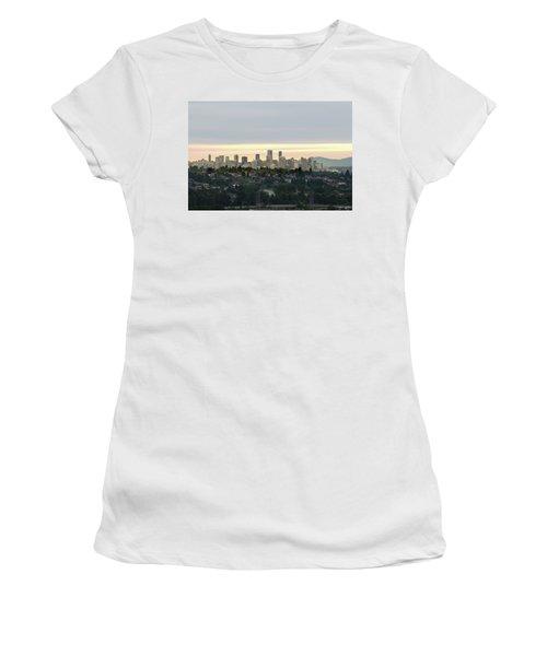 Downtown Sunset Women's T-Shirt