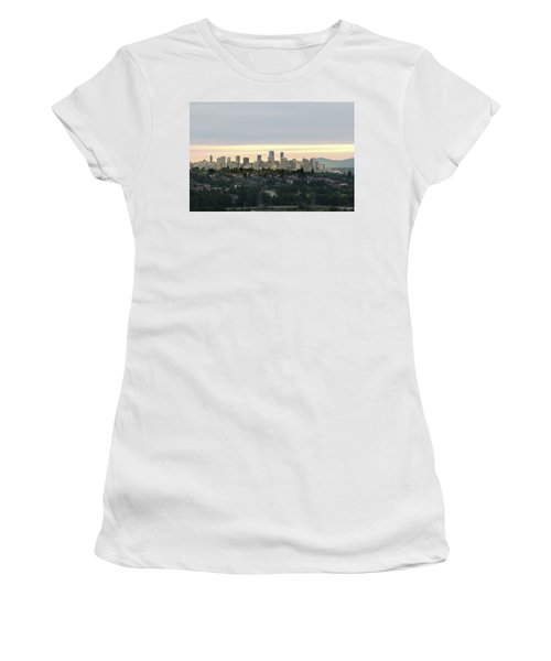 Downtown Sunset Women's T-Shirt