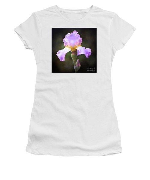 Dramatic Purple Iris Women's T-Shirt