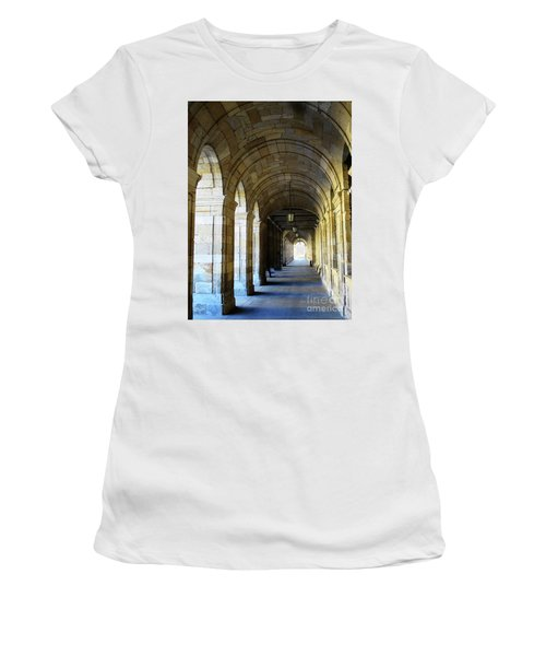 Women's T-Shirt featuring the photograph Drawn To The Light by Rick Locke