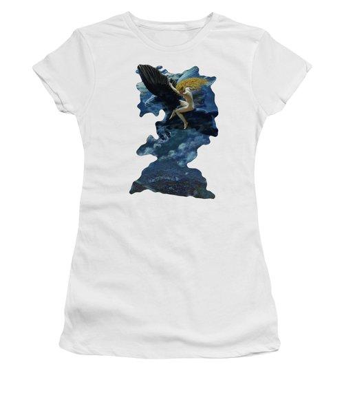 Dream Idyll A Valkyrie By Edward Robert Hughes  Women's T-Shirt
