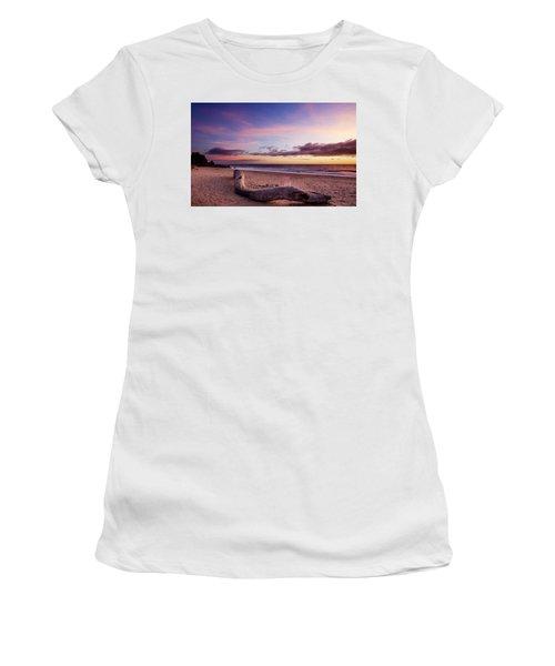 Driftwood At Sunset Women's T-Shirt