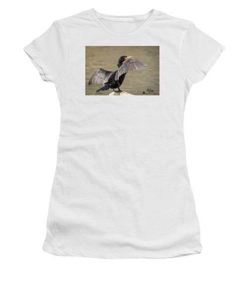 Drying Off Women's T-Shirt