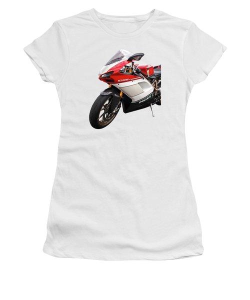 Ducati 1098s Motorcycle Women's T-Shirt