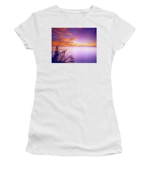 Dusk At Waterloo, Trinidad Women's T-Shirt