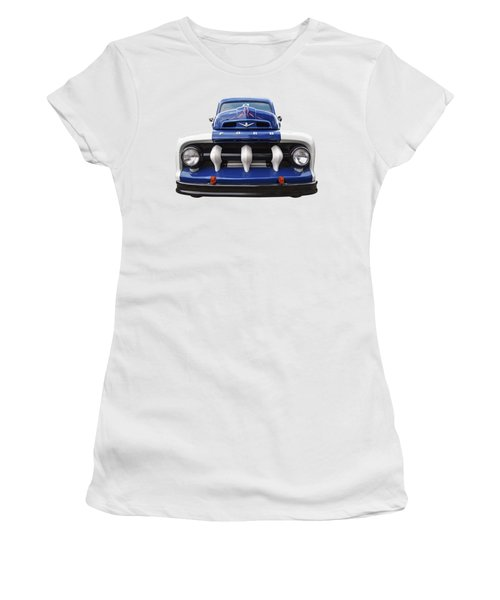 Early Fifties Ford V8 F-1 Truck Women's T-Shirt
