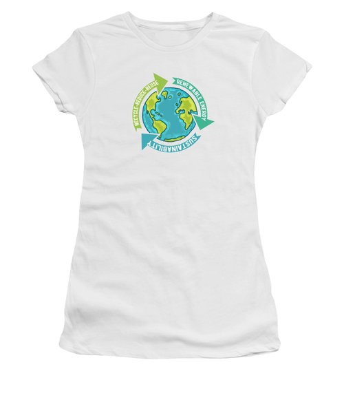 Earth Sustainability Women's T-Shirt