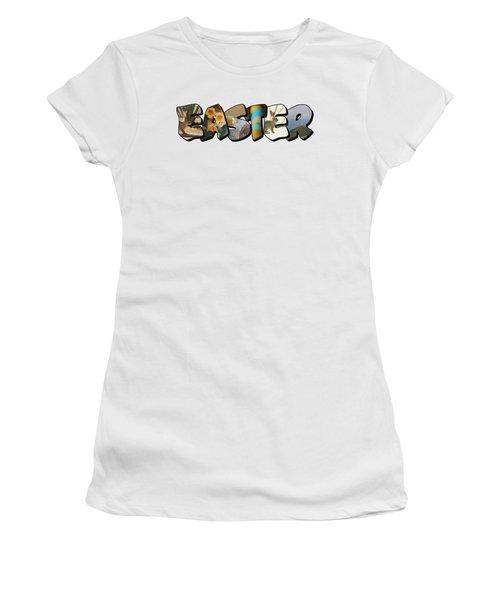 Easter Big Letter Women's T-Shirt