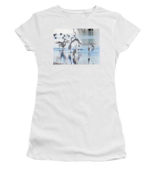 Egret Ballet 1400 Women's T-Shirt