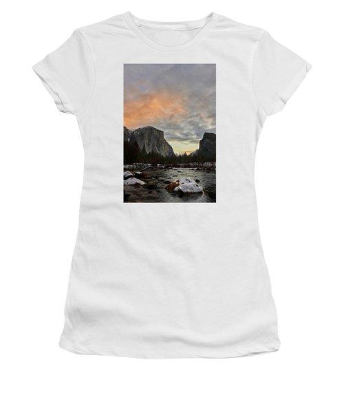 El Capitan At Sunset Women's T-Shirt