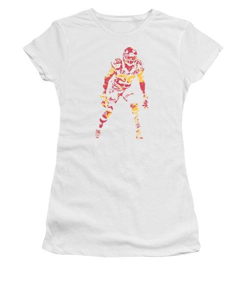 Eric Berry Kansas City Chiefs Apparel T Shirt Pixel Art 2 Women's T-Shirt