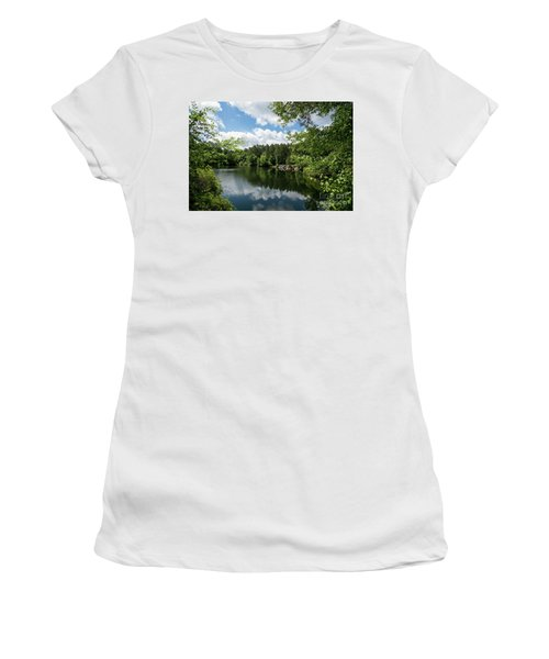 Euchee Creek Park - Grovetown Trails Near Augusta Ga 2 Women's T-Shirt