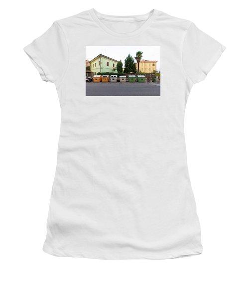 European New Topographics 4 Women's T-Shirt