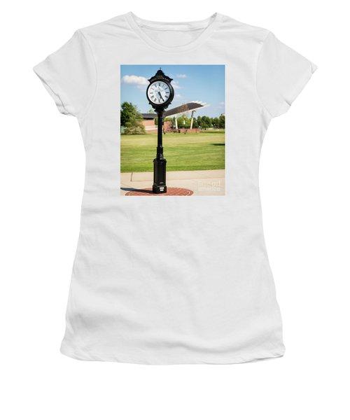 Evans Towne Center Park Clock - Columbia County Ga Women's T-Shirt