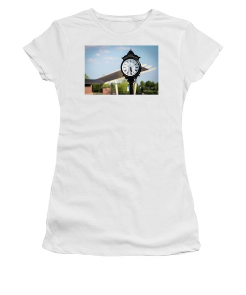 Evans Towne Center Park Clock - Evans Ga Women's T-Shirt