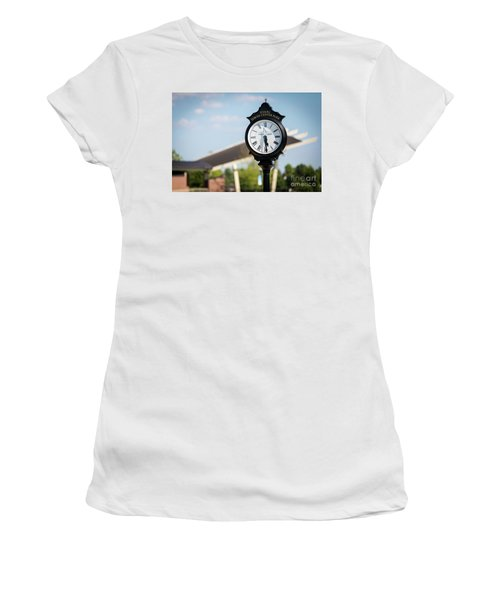 Evans Towne Center Park Clock - Evans Ga Women's T-Shirt