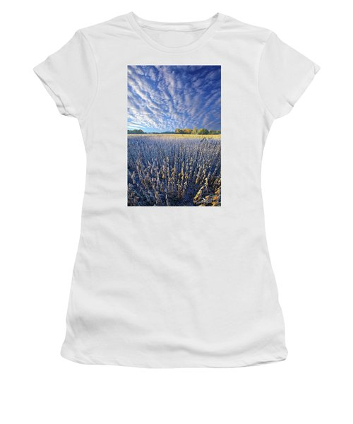 Women's T-Shirt featuring the photograph Every Moment Spent by Phil Koch