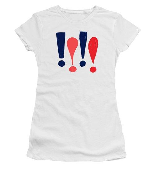 Exclamations Pop Art Women's T-Shirt