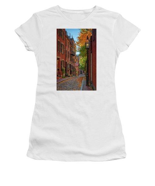 Fall In Beacon Hill Women's T-Shirt