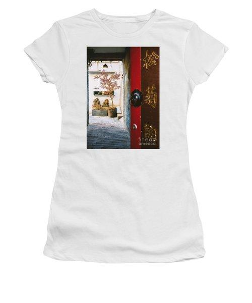 Fangija Hutong In Beijing Women's T-Shirt