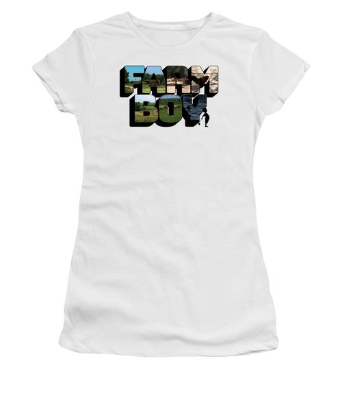 Farm Boy Big Letter 2  Women's T-Shirt