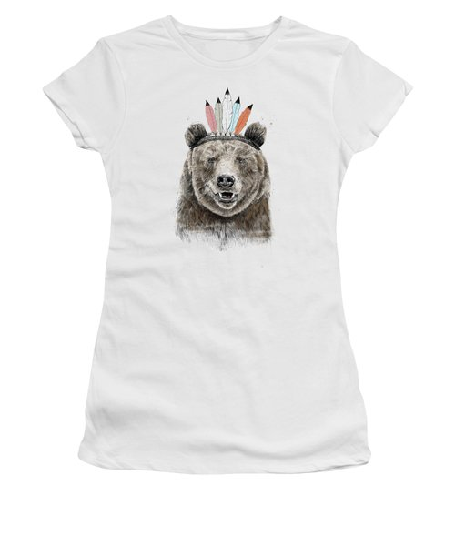 Festival Bear Women's T-Shirt