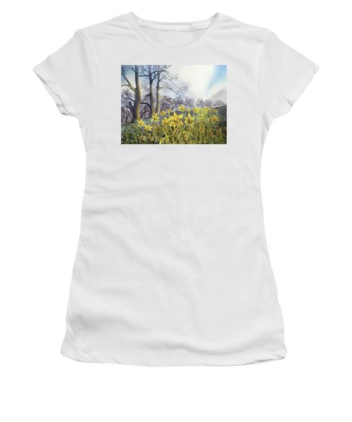 Field Of Hope At Burton Agnes Women's T-Shirt