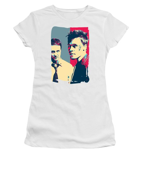 Fight Club Revisited - Tyler Durden And The Narrator Women's T-Shirt