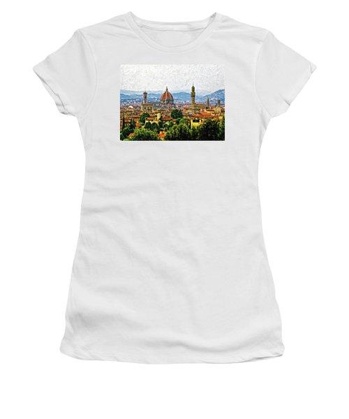 Florence Impasto Women's T-Shirt