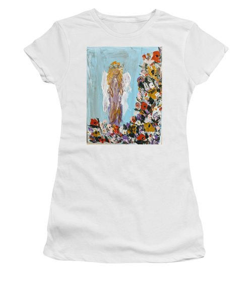 Flower Child Angel Women's T-Shirt