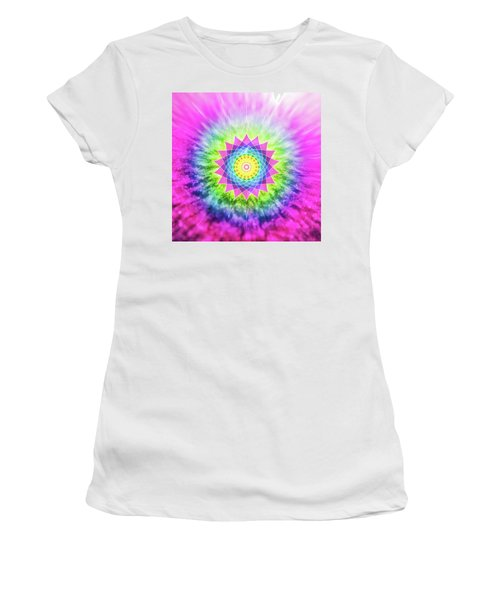 Flowering Mandala Women's T-Shirt