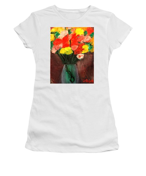Flowers Still Life Women's T-Shirt