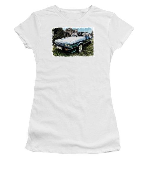 Ford Capri 3.8i Pencil V2 Women's T-Shirt