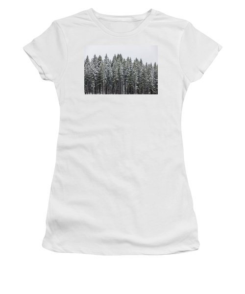 Forest Snow 3 Women's T-Shirt