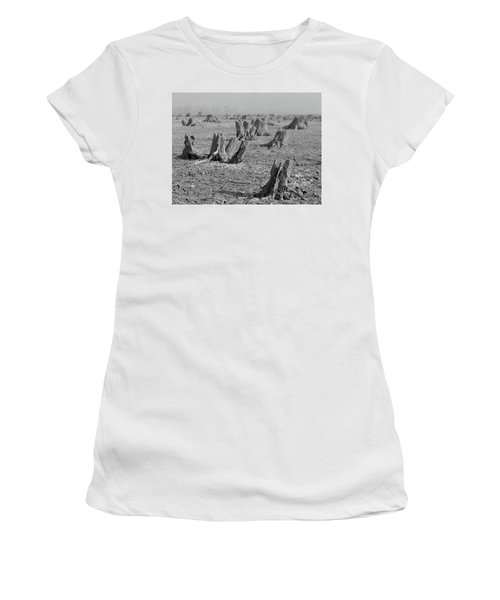 Women's T-Shirt featuring the photograph Forrest by Davor Zerjav