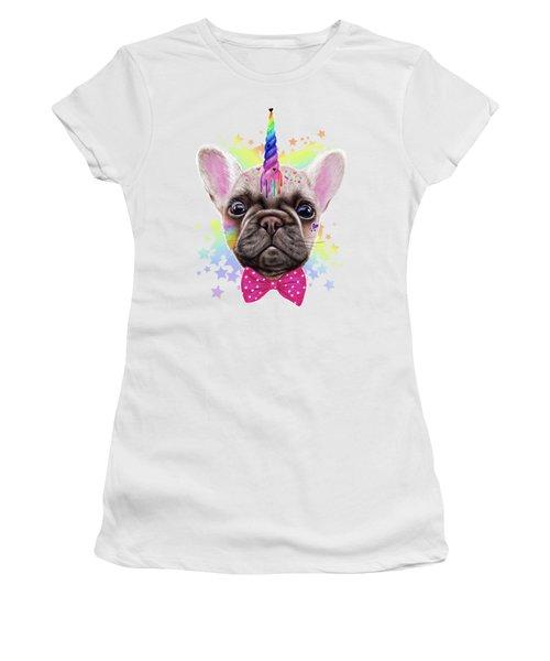 Frenchicorn  Women's T-Shirt