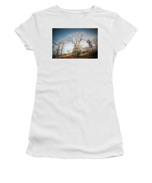 Frost On The Mountain Women's T-Shirt