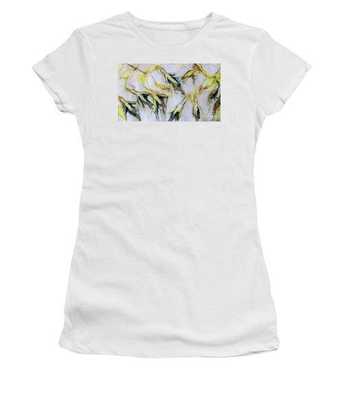 Fuchsia Eco Printed Magic Women's T-Shirt