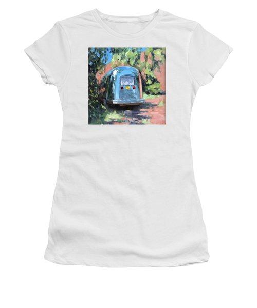 Glamping In Dappled Light Women's T-Shirt