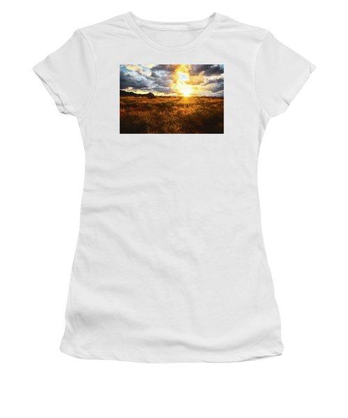 Golden Light Of Southern Arizona Women's T-Shirt