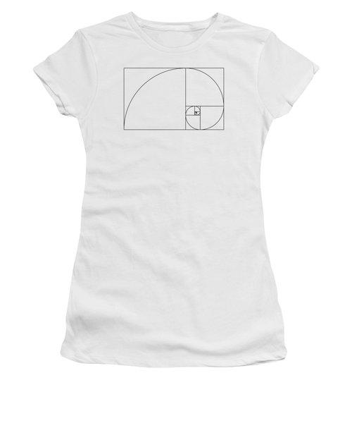 Golden Spiral Women's T-Shirt