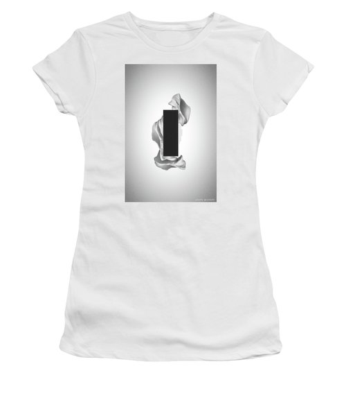 Gray Organon - Surreal Abstract Rectangle On Seashell Women's T-Shirt