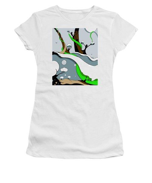 Half Full Women's T-Shirt