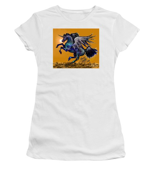 Halloween Fantasy Horse Women's T-Shirt