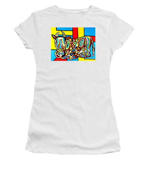 Haring's Cow Women's T-Shirt