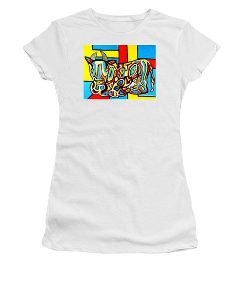 Haring's Cow Women's T-Shirt